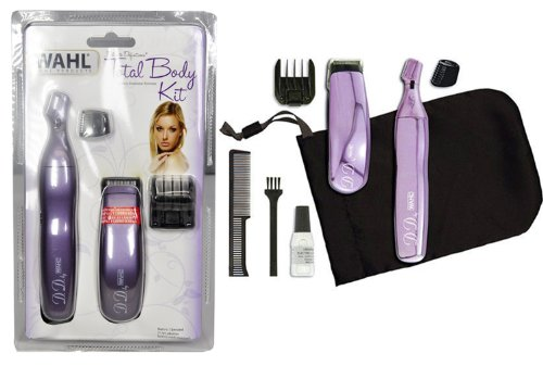Wahl Total Body Kit Battery Femminine Trimmer 9952-508 (Wahl Personal Trimmer Women)