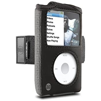 DLO Action Jacket Case with Armband for 80/120/160 GB iPod classic Bulk Packaging (Black)