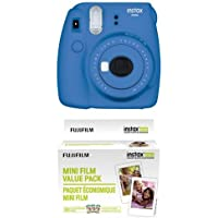Fujifilm Instax Mini 9 Instant Camera - Cobalt Blue with...