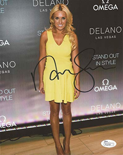 - Natalie Gulbis REAL hand SIGNED Golf 8x10