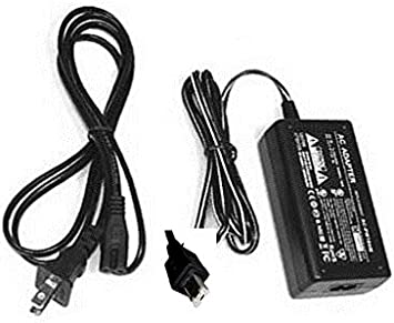 GZMG77U Camcorder with USA Cord /& Euro Plug Adapter HQRP Replacement AC Adapter//Charger for JVC Everio GZ-MG77U
