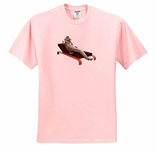 boehm-graphics-cartoon-cartoon-crocodile-in-a-lounge-chair-drinking-t-shirts-adult-light-pink-t-shir
