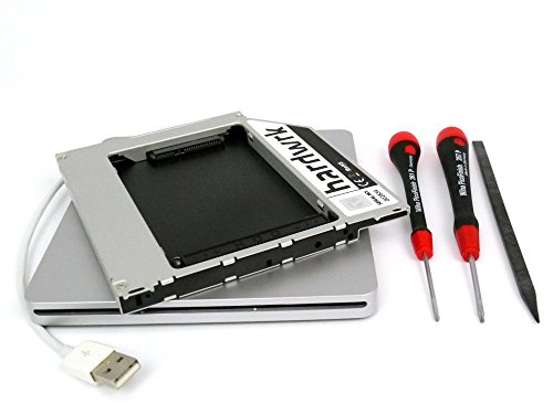 hardwrk PATA-Adapter-Umbau-Kit für non-unibody Apple MacBook (Pro) 13