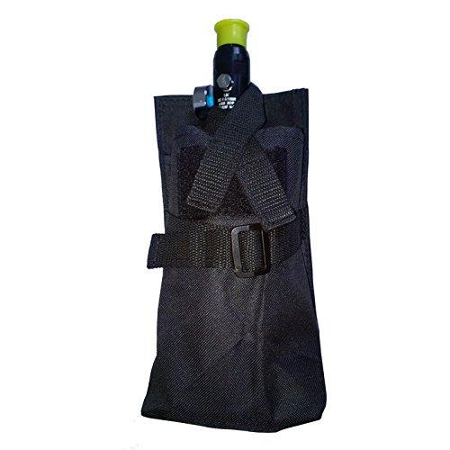 New Legion Paintball Accessories 63343 Tank Bag Black