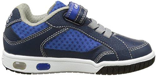 Geox Jr Gregg a, Zapatillas para Niños Azul (Navy/greyc0661)