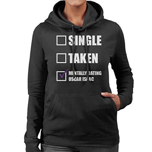 Isaac Sweatshirt Dating Women's Mentally Hooded Coto7 Black Oscar qfTtOnP
