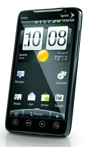 HTC EVO Design SL892 Android Phone (BOOST MOBILE) Evo Design 4G by HTC (Boost)‎ (Htc Telephone Mobile)