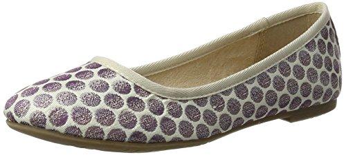 Tamaris 22151, Ballerines Femme Violet (Lavender Dots)
