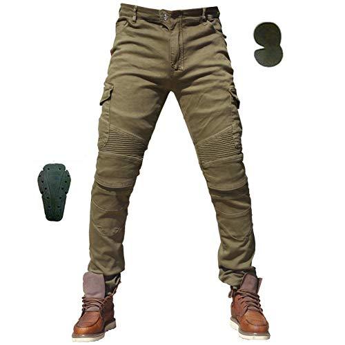 Motorradhose Camouflage Jeans Freizeit Motorrad Motorrad Herren Offroad Outdoor Hose Mit Schutzausrüstung Knieschützer…