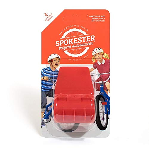 Motorcycles Like Girls - Spokester Playtrix Bicycle Noise Maker - Makes Your Bike Sound Like a Motorcycle