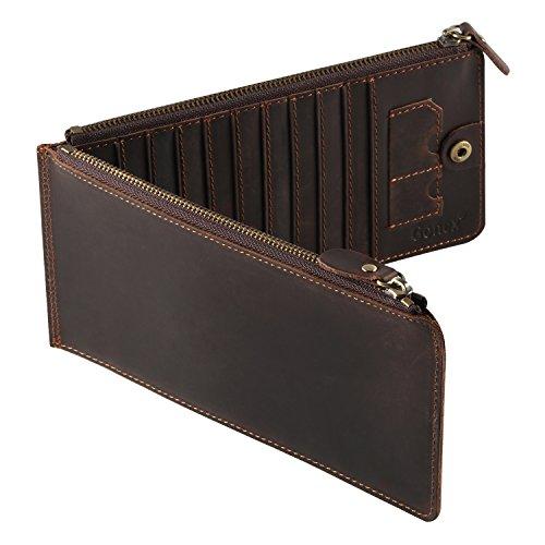 Gonex Leather Credit Organizer Wallet