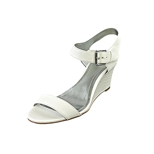 style and co white wedges - 9