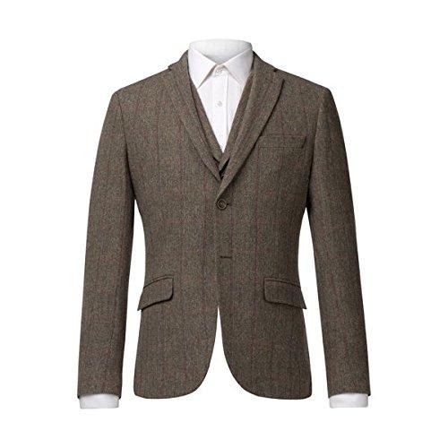 アレクサンダーオブイングランド メンズ ジャケット&ブルゾン Ludlow Sage Multi Check Jacket [並行輸入品] B07CNPLNFT 38 Regular
