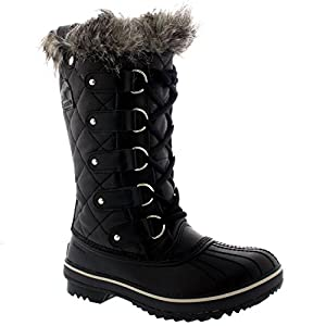 Amazon.com : Womens Sorel Tofino Leather Lace Up Snow