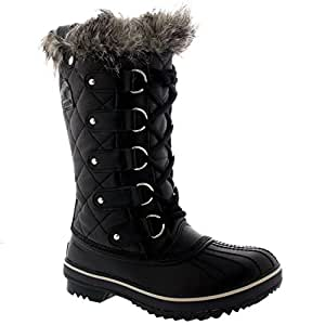 Amazon.com : SOREL Womens Tofino Leather Lace Up Snow