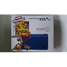 Nintendo DSi XL - Midnight Blue Bundle with Mario vs Donkey Kong Mini-Land Mayhem