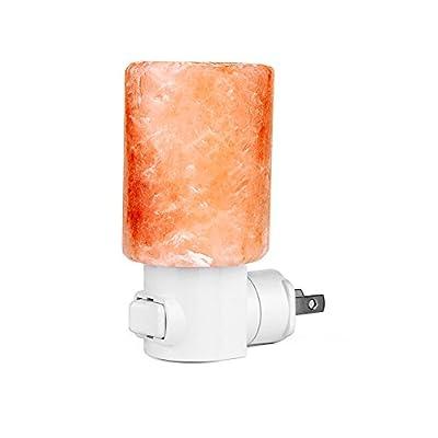 Home Decoration Mini Hand-carved Natural Crystal Salt lamps Himalayan Salt Night Light Lamp Wall Light Nursery Nightlight US Plug