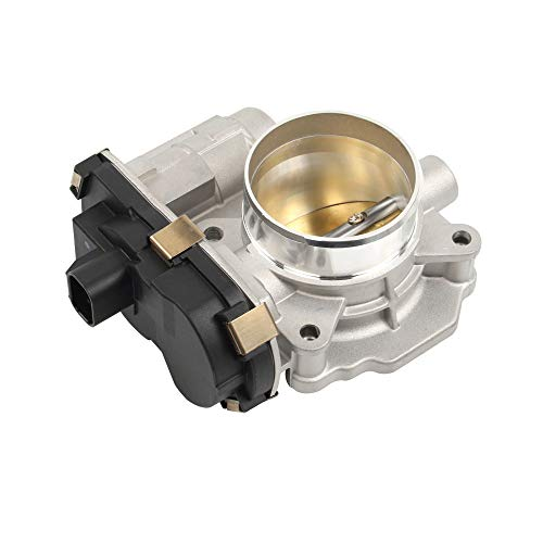 HOWYAA HYVE65 Electronic Fuel Injection Throttle Body Assembly Compatible for Chevrolet Malibu GMC Pontiac Saturn 2.4L Replace# 12615516 12631186 - Assembly Valve Body Throttle