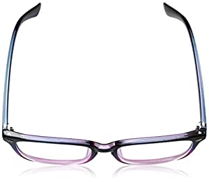 TIJN Unisex Stylish Square Non-Prescription Eyeglasses Glasses Clear Lens Eyewear