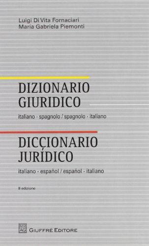 Descargar libro dizionario giuridico italiano spagnolo for Traduzione da spagnolo a italiano