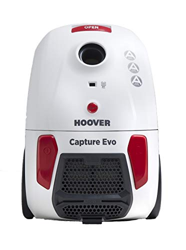Hoover BV71_CP10 Capture Bagged Cylinder Vacuum Cleaner, 700 W,...
