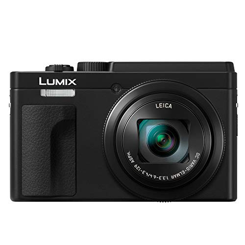 PANASONIC LUMIX ZS80 20.3MP Digital Camera, 30x 24-720mm Travel Zoom Lens, 4K Video, Optical Image Stabilizer and 3.0-inch Display – Point & Shoot Camera with Lecia Lens – DC-ZS80K (Black)