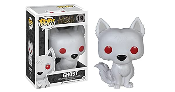 Amazon.com: Figura de vinilo de Ghost de Game Of Thrones, de ...