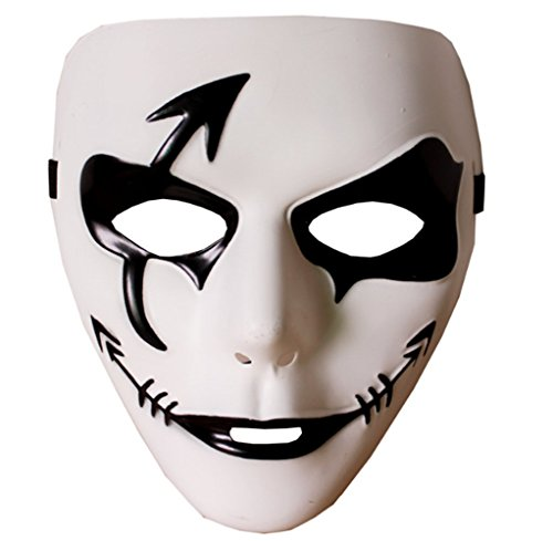 Out Of The Ordinary Halloween Costumes (Jiuyun Clown Mask Halloween Costume Party Props Freehand Street Dance Mask)