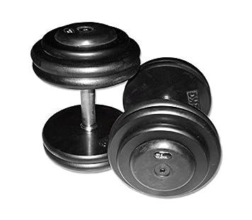 Iron Body CHD compacta mancuernas (Hierro Fundido, 10 kg, 1 par (fabricado en Alemania.): Amazon.es: Deportes y aire libre