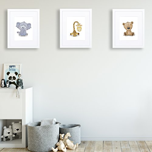 11x14 White Picture Frame - Matted for 8x10, Frames by EcoHome by Eco-home (Image #7)