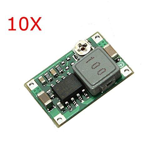 10Pcs Mini DC Adjustable Power Supply Buck Module Step Down Module - Arduino Compatible SCM & DIY Kits