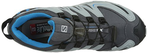 Salomon XA Pro 3D GTX, Herren Trekking- & Wanderhalbschuhe Grau (Dark Cloud/Light Onix/Methyl Blue)