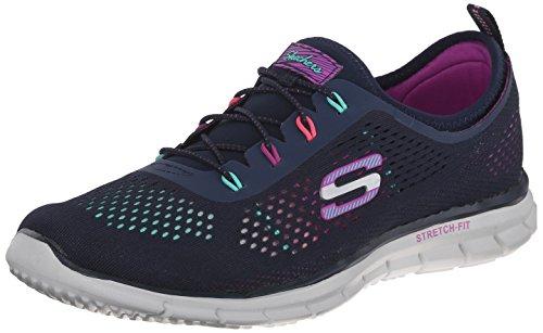 Skechers Glider-Harmony, Zapatillas Para Mujer Multicolor (Nvmt)