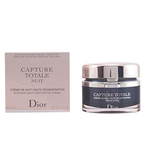 Christian Dior Capture Total Nuit Intensive Night Restorative Creme for Face and Neck, 2.1 Ounce (Best Face Cream For Women Over 50)