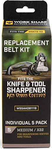 (Work Sharp Ken Onion X22 Belt Kit WKS03910)