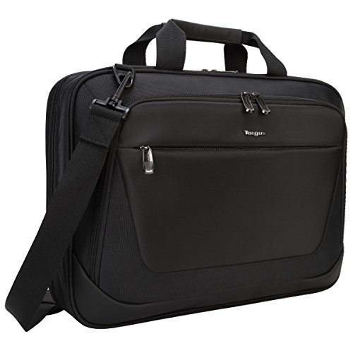 Targus CityLite Briefcase for 15.6-Inch Laptop, Black (TBT053US)