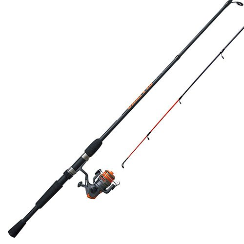 Zebco / Quantum CRFUL562ULA.NS4, Crappie Fighter Spinning Combo, 4.3: 1 Gear Ratio, 1 Bearing, 5'6' 2pc Rod, 2-6 lb Line Rate, Ambidextrous