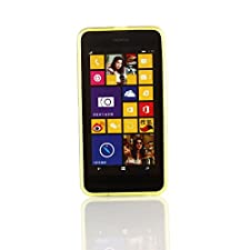 Kit Me Out US TPU Gel Case for Nokia Lumia 630 – Black Butterfly Splash
