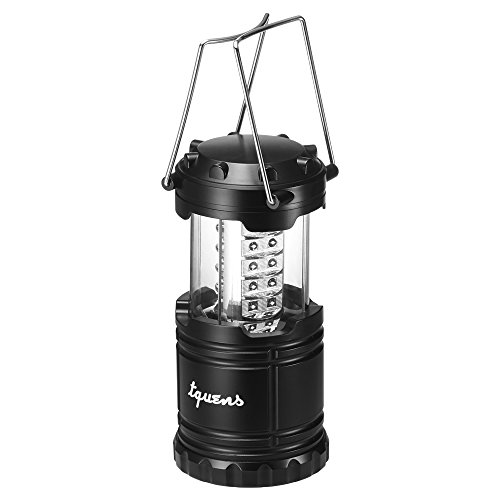 Tquens-L400-Camping-Lantern-with-Auto-OnOff-Function-and-Collapsible-and-Battery-Operated-for-Outdoors-Camping-Hiking-Fishing-Emergency-Black