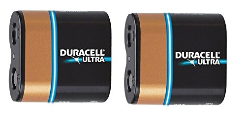 223 223A Duracell Ultra Lithium 6V Battery, Duracell DL223A Replacement (2 Pack)