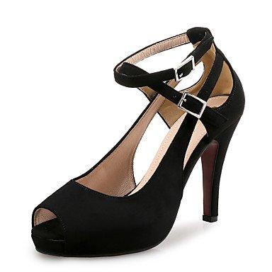 pwne Zapatos De Tacones De Mujer Club De Terciopelo De Microfibra Boda Vestido De Noche &Amp; Stiletto Talón Conjunta Dividida US6.5-7 / EU37 / UK4.5-5 / CN37
