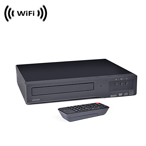Spy Camera with WiFi Digital IP Signal, Camera Hidden in a DVD Player