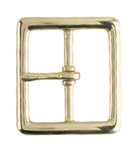 Gould & Goodrich 125-Gbr Pants Belt Buckle Place On 1-3/4-Inch Belt (Brass) (Garrison Buckle)