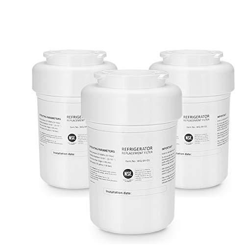 Art light MWF Refrigerator Water Filter 3pack GE MWF Water Filter Replacement for GE MWF Smartwater GE MWF GWF HWF MWFA GWF06 GWFA GWF01