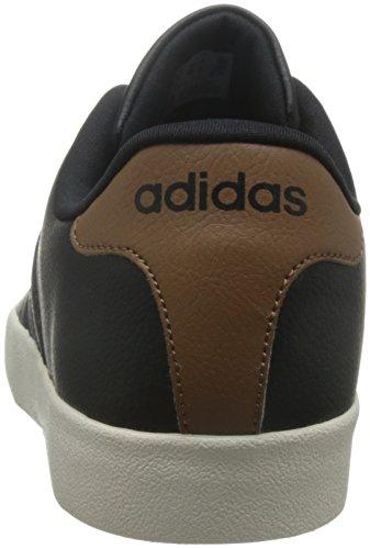 adidas VLCOURT VULC - Zapatillas deportivas para Hombre, Negro - (NEGBAS/NEGBAS/MADERA) 40 2/3