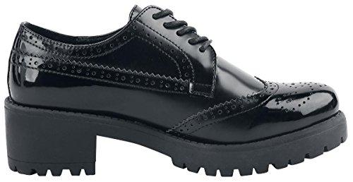 Refresh Noir Femme black 063697 Black Richelieus rqrWAS