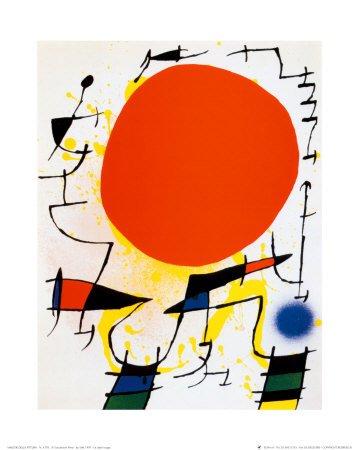 El Sol rojo Joan Miro