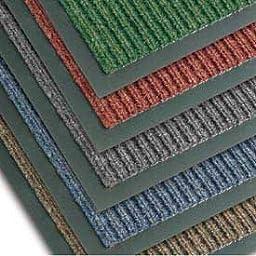NoTrax T39 Bristol Ridge Scraper Carpet Mat, for Wet and Dry Areas, 3\' Width x 5\' Length x 3/8\