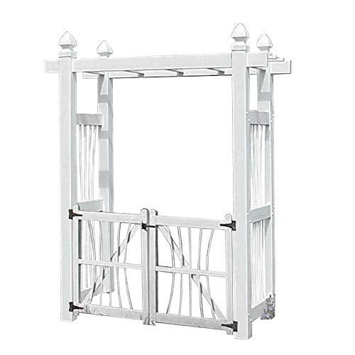 BestNest Dura-Trel Courtyard Arbor with Gate