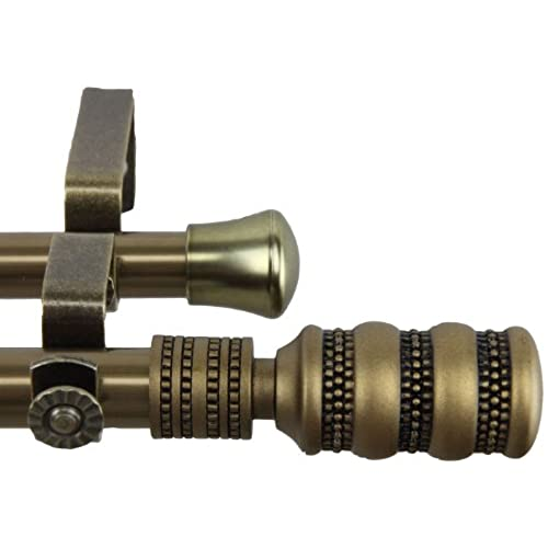 Antique Brass Curtain Rods Amazon Com